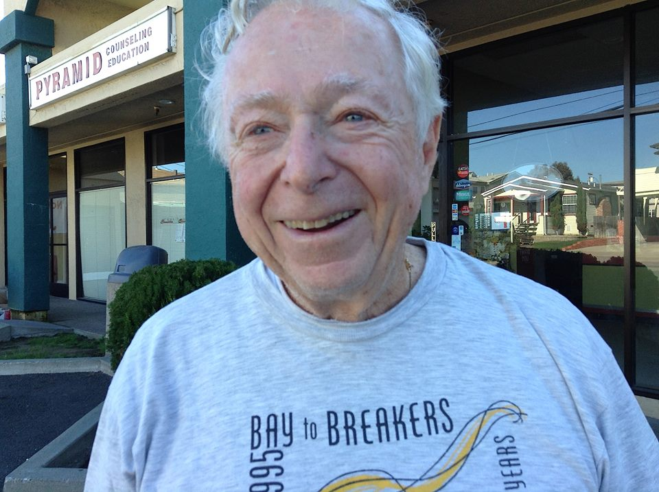 Tom, 85, a retired engineer, once worked on NASA booster rockets.